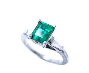 Affordable emerald engagement rings for women