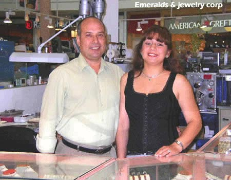 Colombian emerald jewelers