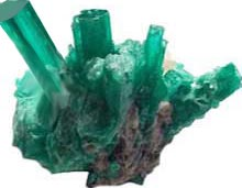 Emeralds from Colombia