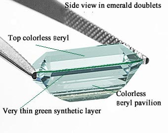 doublet emeralds